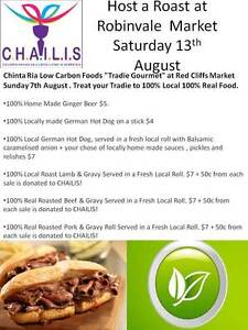 Host a Roast @ Robinvale Market Saturday 13th August 9am - 1pm Robinvale Murray-Darling Area Preview
