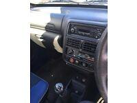 51 reg Peugeot 106 XN Zest 2 5 door Blue