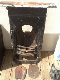 Victorian fire place needs repainting