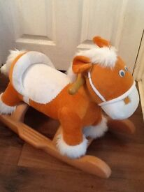 Baby rocking horse excellent condition