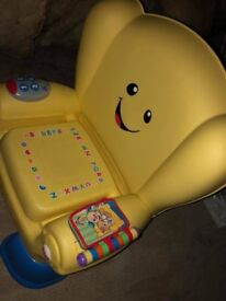 Baby chair with music and noises