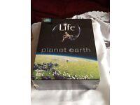 Life on Planet earth 9 d v d disc set unopened