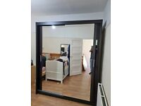 💞💢German Chicago 2 and 3 Door Wardrobe two three Sliding Doors Fully Mirror for sale same day💞💢