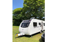 2014 Swift Challenger 625 SE 4 berth Fixed bed & side dinette