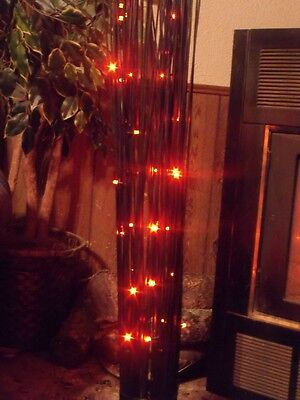 HALLOWEEN LED LIGHTED SPOOKY BLACK TREE BRANCH TWIGS RED LIGHTS GEMMY PROP 3 FT](Black Tree Branches Halloween)