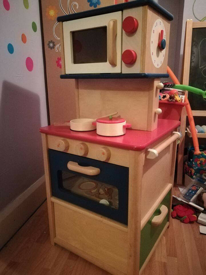 Wooden Childrenu0027s Kitchen