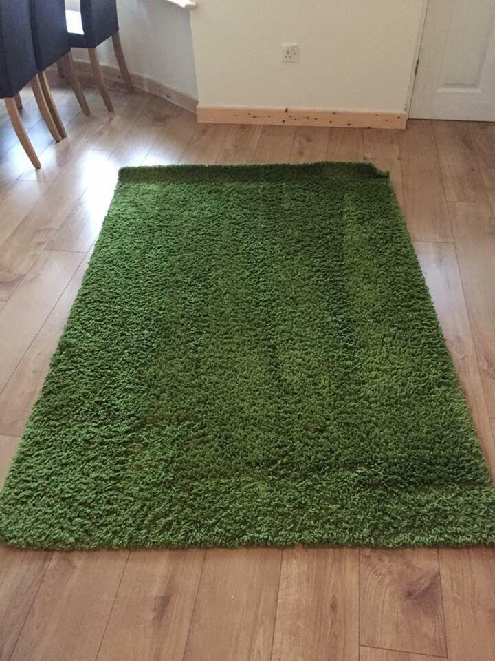 Ikea Green Rug
