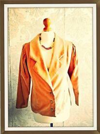 Type: Jacket Size:12-14 Colour: Salmon Brand: Ciesielski