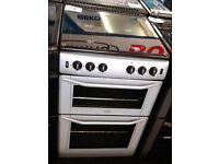 Z024 silver belling 55cm gas cooker comes with warranty can be delivered or collected