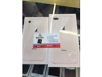 IPhone 8 Plus 64gb apple warranty brand new boxed