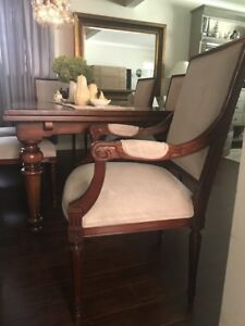 Restoration Hardware Dining Chairs (Set of 6)