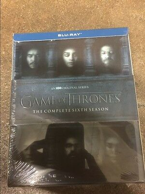 Game Of Thrones  Sixth Complete Season 6  Blu Ray Disc  2016   No Digital Codes