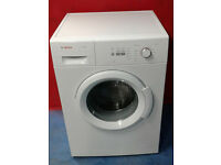 b429 white bosch 6kg 1400spin washing machine comes with warranty can be delivered or collected