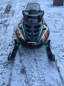 Mint Arctic Cat ZRT