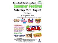 Summer festival Friends of hangleton Park