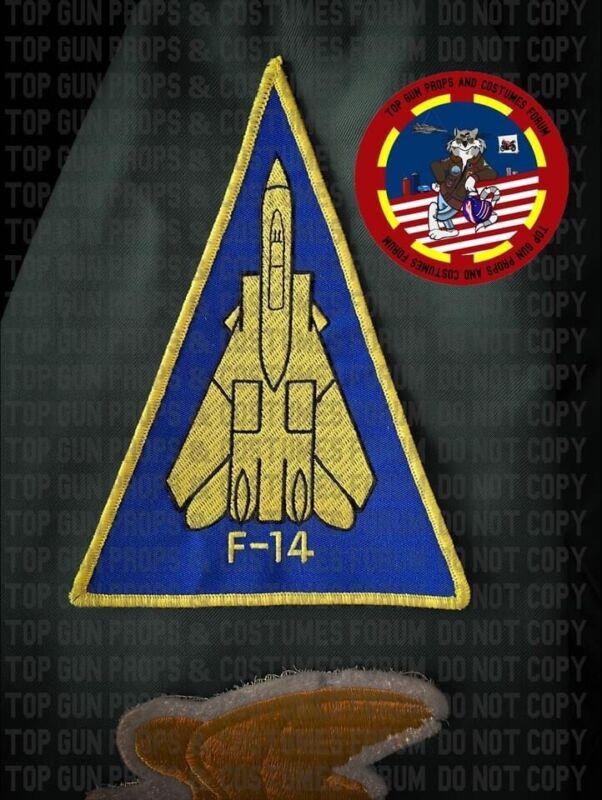 F-14 Tomcat Triangle Patch Top Gun Screen Accurate Replica VF-124