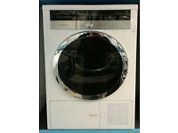 b325 white grundig 8kg A+ rated heat pump condenser dryer comes with warranty can be delivered