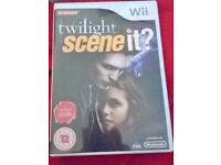 Wii Twilight Scene it GAME Boxed £5