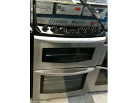R246 stainless steel parkinson & cowan 60cm double oven gas cooker comes with warranty