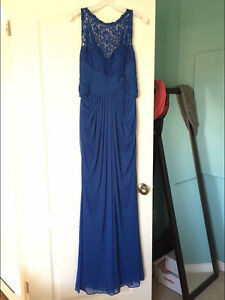 Brand new formal dress with Lace details