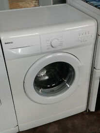 b198 white beko 6kg 1200spin washing machine comes with warranty can be delivered or collected