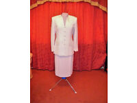 Light Pink Skirt Suit by Gina Size 12 UK