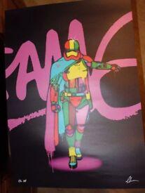 Street Art Limited Edition Artist Print
