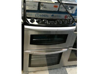 Q246 stainless steel parkinson cowan 60cm double oven gas cooker comes with warranty
