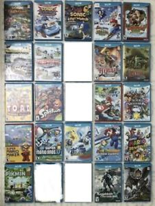 Wii U Games - Mario kart, Smash Bros, Mario Maker, Mario 3DWorld