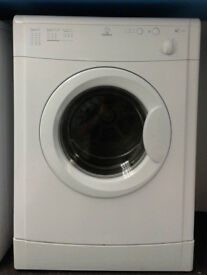 I099 white indesit 6kg vented dryer comes with warranty can be delivered or collected