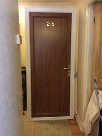BROWN PVC FRONT DOOR
