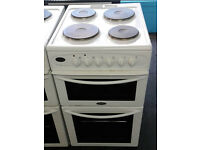 a065 white belling 50m solid ring double oven electric cooker comes with warranty can be delivered