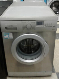 R406 stainless steel siemens 7kg 1200spin washing machine comes with warranty can be delivered