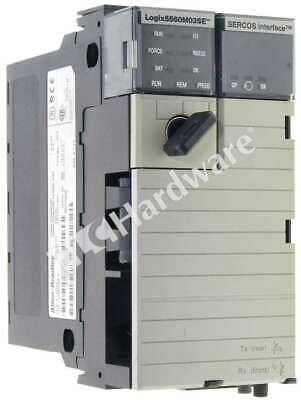 Allen Bradley 1756-l60m03se A Controllogix Logix5560m03se Controller Sercos Qty