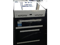 *108 White Beko 60cm Ceramic Hob Double Oven Electric*Graded* Comes With Warranty & Can Be Delivered