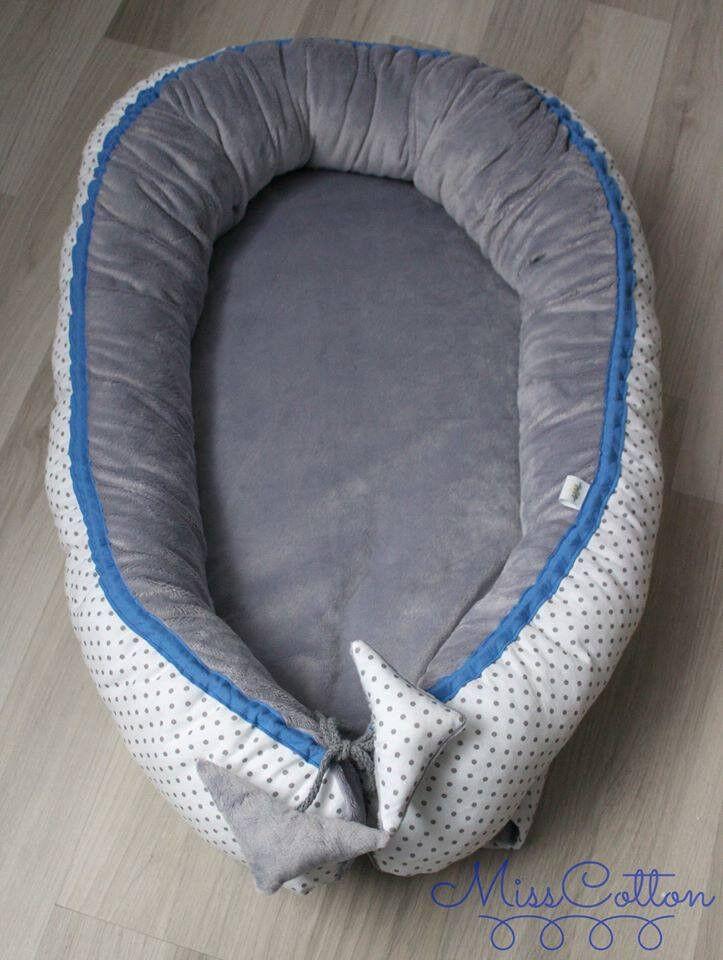 BABY NEST (DOUBLE SIDED) EXTRA COSY -kokon niemowlęcy dwustronny extra mięciutki