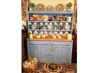 old kitchen dresser upcycled