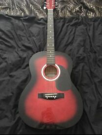 Martin Smith - Acoustic Guitar - Red