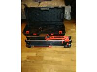 tile cutter and wet saw. good condition