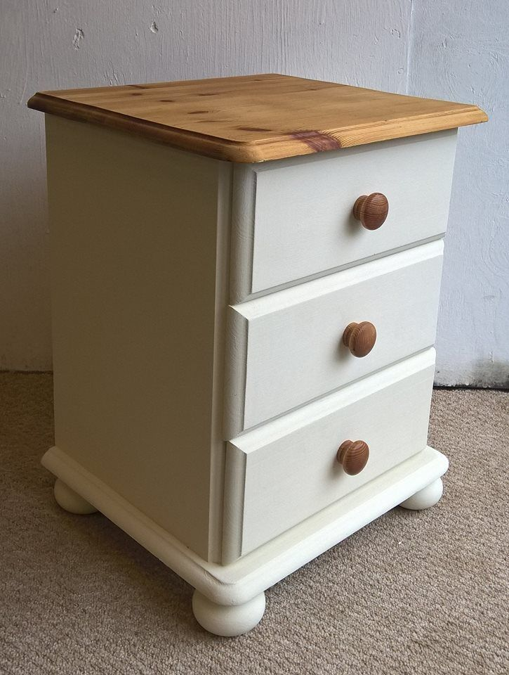 Cream Bedside Tables