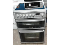 c380 silver cannon 60cm double ceramic electric cooker comes with warranty can be delivered