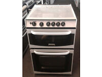 E025 silver cannon 55cm gas cooker comes with warranty can be delivered or collected