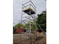 Boss Youngman Double Width Scaffold Tower 6.2m Working Hright