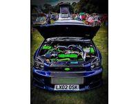 Subaru Impreza wrx 353.6 Bhp - car is awesome - Launch control - anti lag - Sounds amazing - £3500