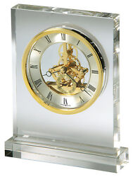645-682 HOWARD MILLER TABLE TOP CLOCK PRESTIGE