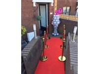 Party Hire Red Carpet & Giant Lightbox