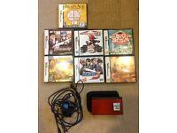 DS Lite + 8 Games Bundle