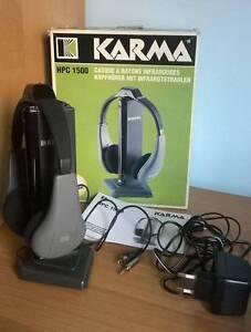 Cuffie stereo wireless a infrarossi Karma - Italia - Cuffie stereo wireless a infrarossi Karma - Italia