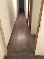 Flooring install (hardwood, laminate and vinyl)
