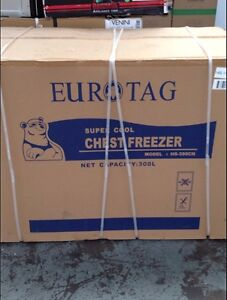 Eurotag 300lt lockable chest freezer - brand new in box! South Yarra Stonnington Area Preview